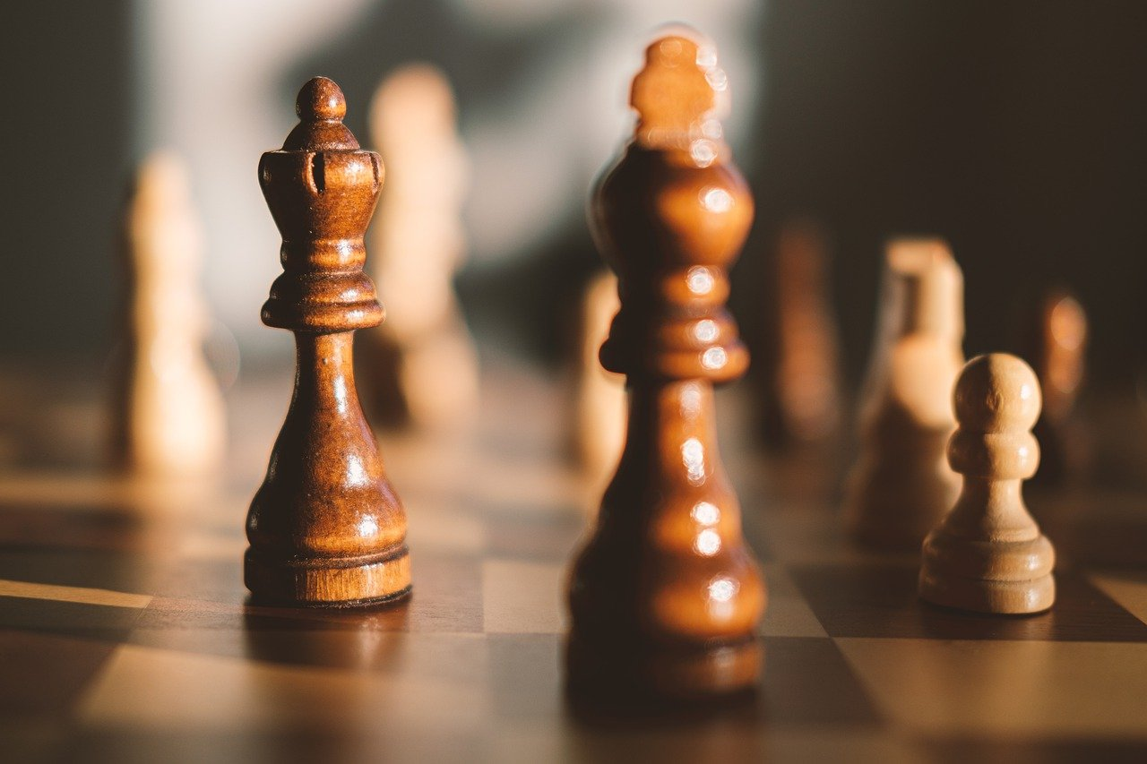 chess, board game, chessboard